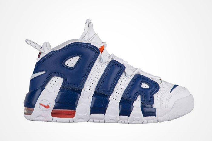 Latest Nike Air More Uptempo Channels Knicks Vibesfeature2