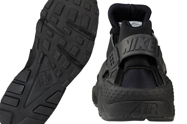 Nike Air Huarache Triple Black 2