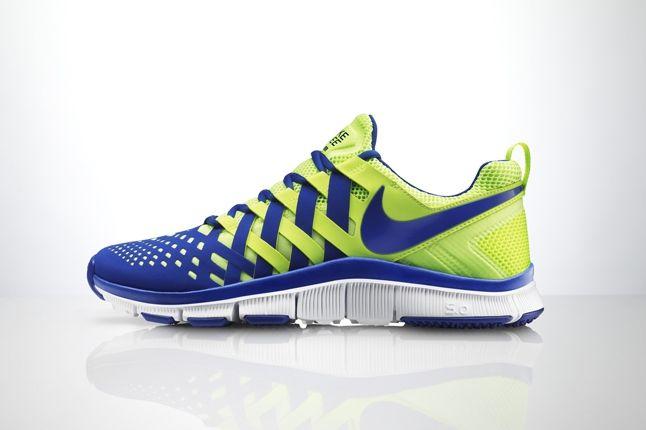 Nike Free Trainer 5 0 Volt Neon Profile 1