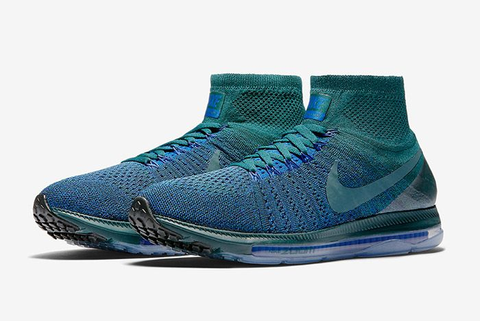 Nike Zoom All Out Flyknit Atomic Teal Blue 5