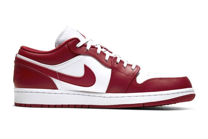 Air Jordan 1 Low Gym Red Right