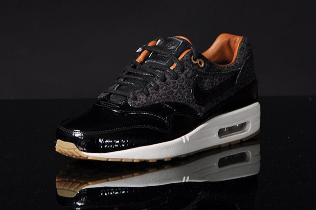 Nike Air Max 1 Fb Woven Black Leopard 3