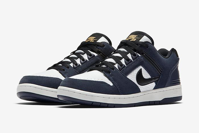 Nike Sb Air Force 2 Low Ao0300 400 Right Three Quarter Shot
