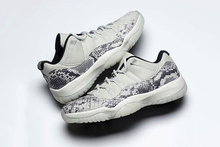 Air Jordan 11 Low Snakeskin Light Bone Cd6846 002 7