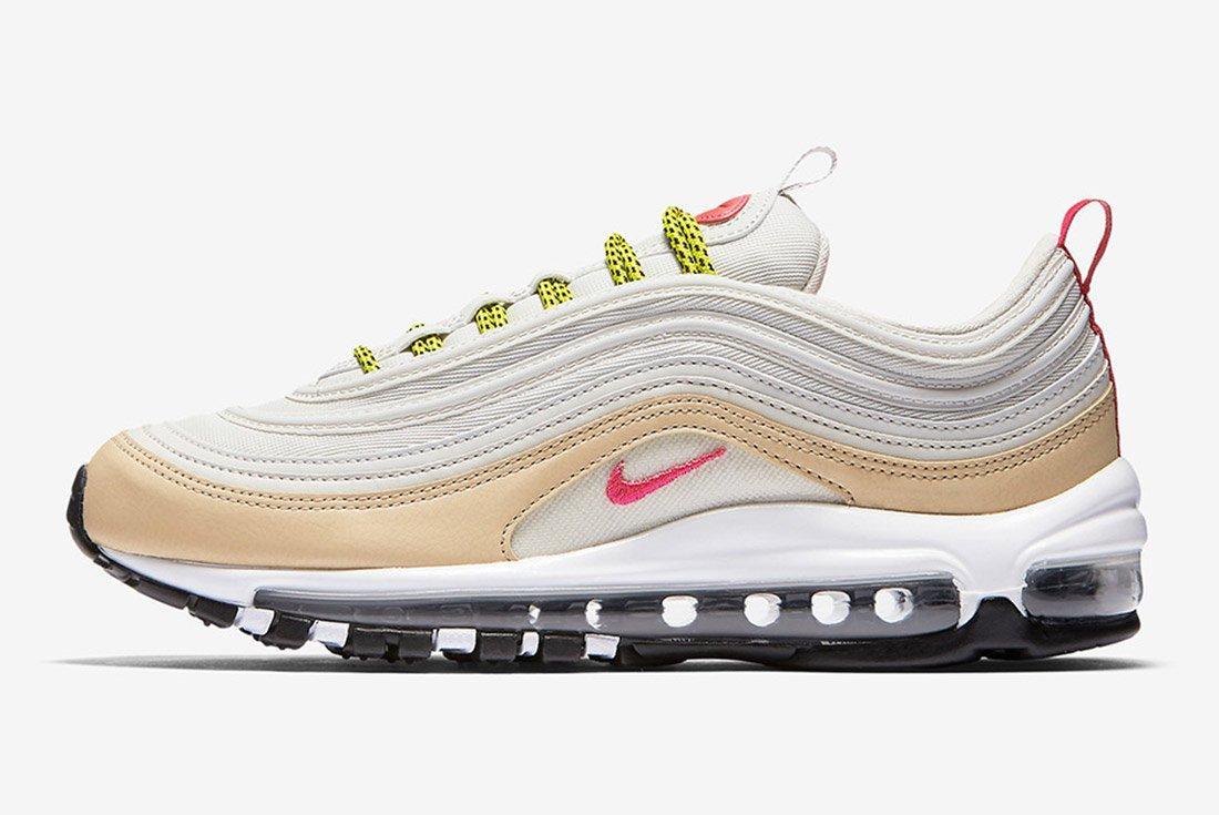 Nike Air Max 97 White Tan Neon 5