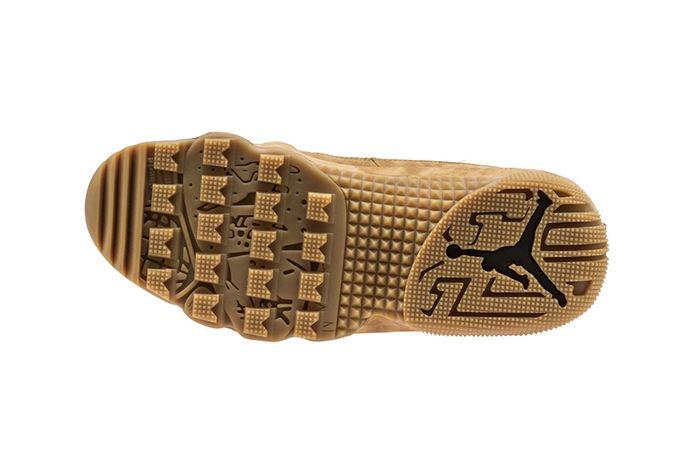 Air Jordan 9 Boot Wheat Black 3