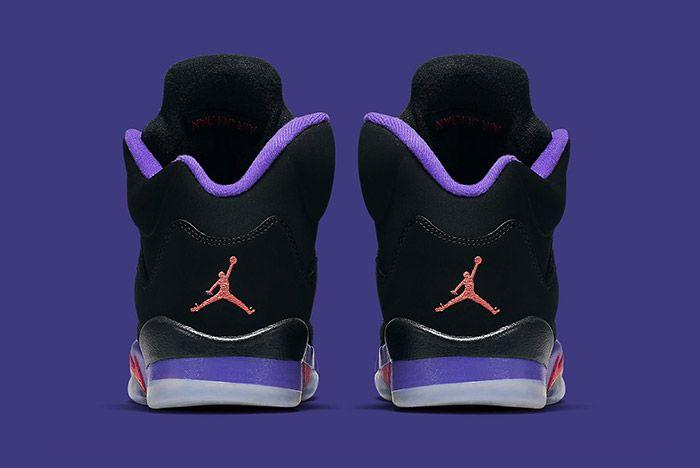 Air Jordan 5 Retro Gs Fierce Purple Raptors 1