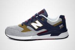 New Balance 530 Grey Navy Gold Thumb