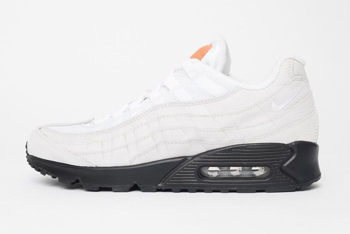 Patta X Nike Air Max 9590 White Lateral Side