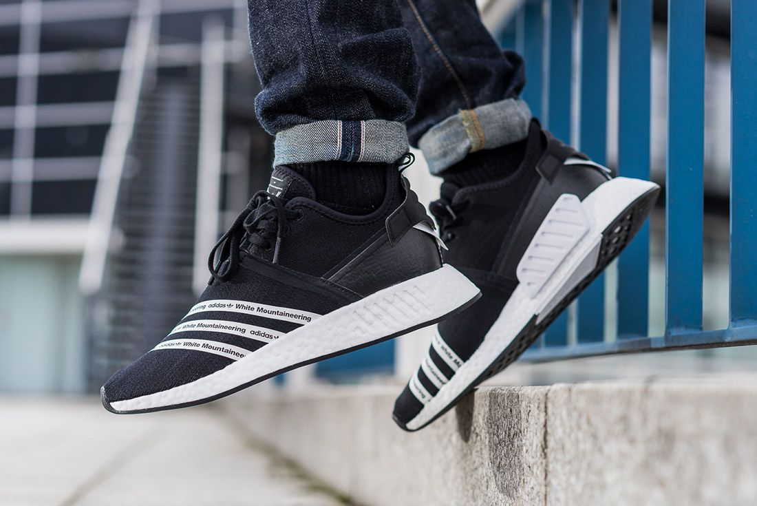 White Mountaineering Adidas Nmd R2 5