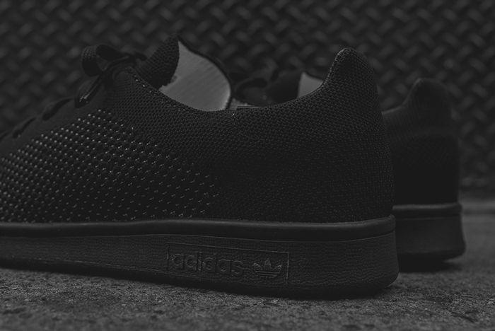 Adidas Stan Smith Primeknit Blackout3