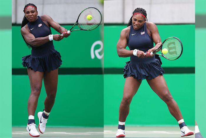 Serena Williams Nikecourt Flare 4