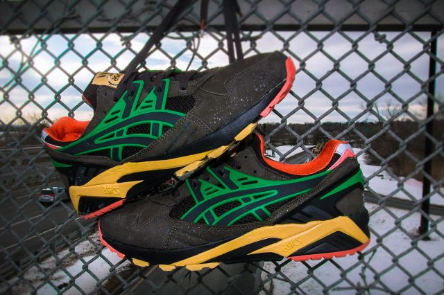 Packer Shoes X Asics Gel Kayano Trainer All Roads Lead To Teaneck 3