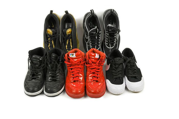 Keith Flint Sneaker Auction 2