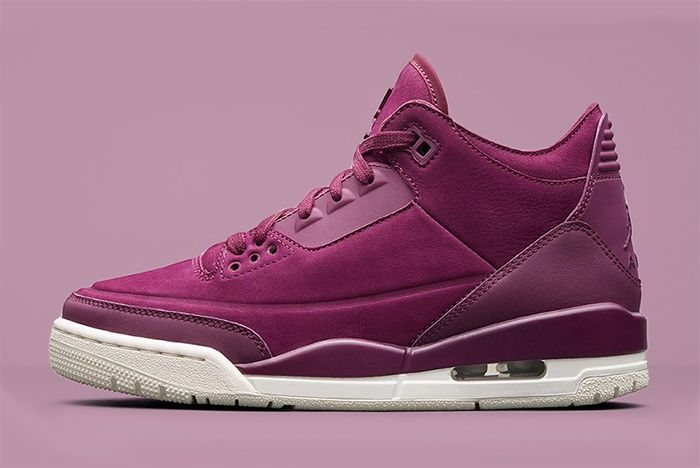 Wmns Air Jordan 3 Bordeaux 1