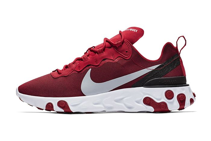 Nike React Element 55 Gym Red 1