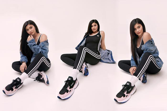 K Ylie Jenner X Adidas Falcon Release Date Hero