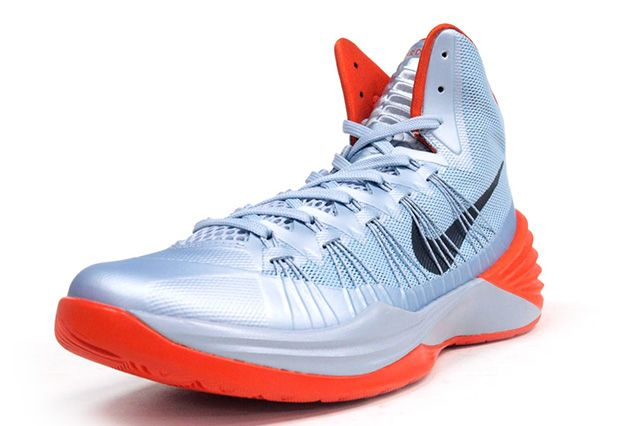 Nike Hyperdunk 2013 Silver Orange 3