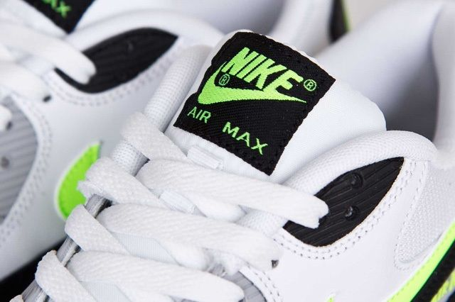 Nike Air Max 90 White Volt 5
