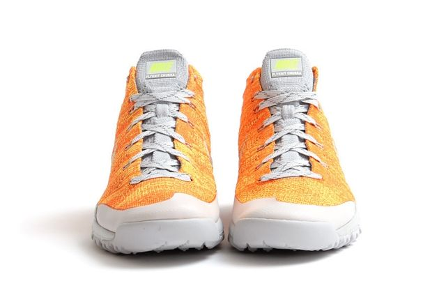 Nike Flyknit Trainer Chukka Fsb Total Orange 1