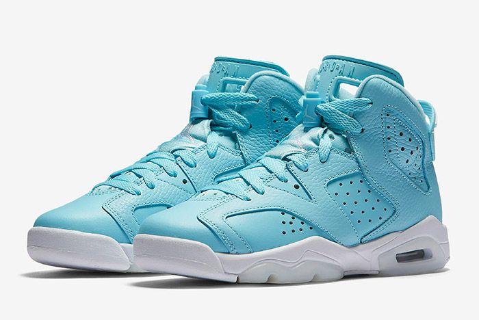 Air Jordan 6 Pantone Blue Gs 6