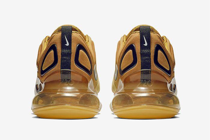 Nike Air Max 720 Desert Gold Heel