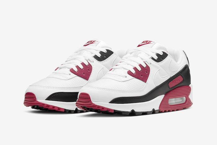 Nike Air Max 90 New Maroon Pair