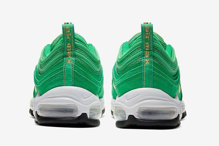 Nike Air Max 97 Lucky Green Ci3708 300 Heel