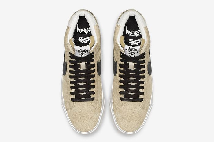 Stussy Nike Sb Blazer Mid Midwest Gold Official 3
