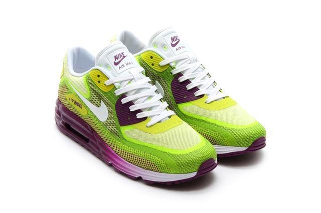 Nike Air Max 90 Lunar Bright Grape Venom Green 2