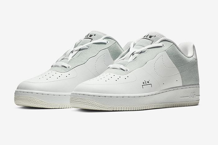 A Cold Wall Nike Air Force 1 Low White 1