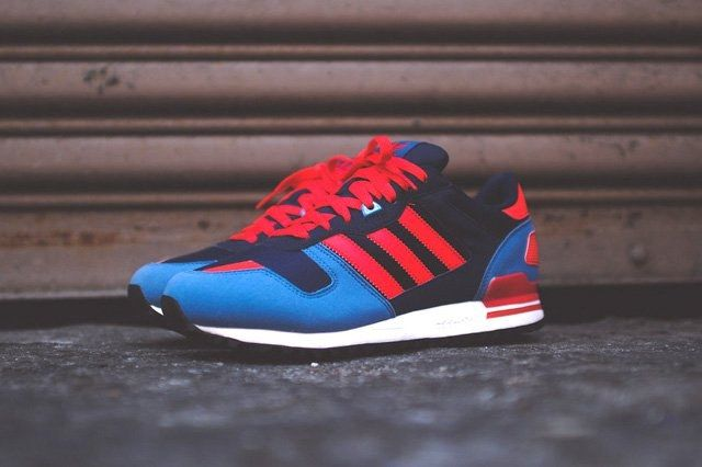 Adidas Zx 700 Navy Blue Red 4