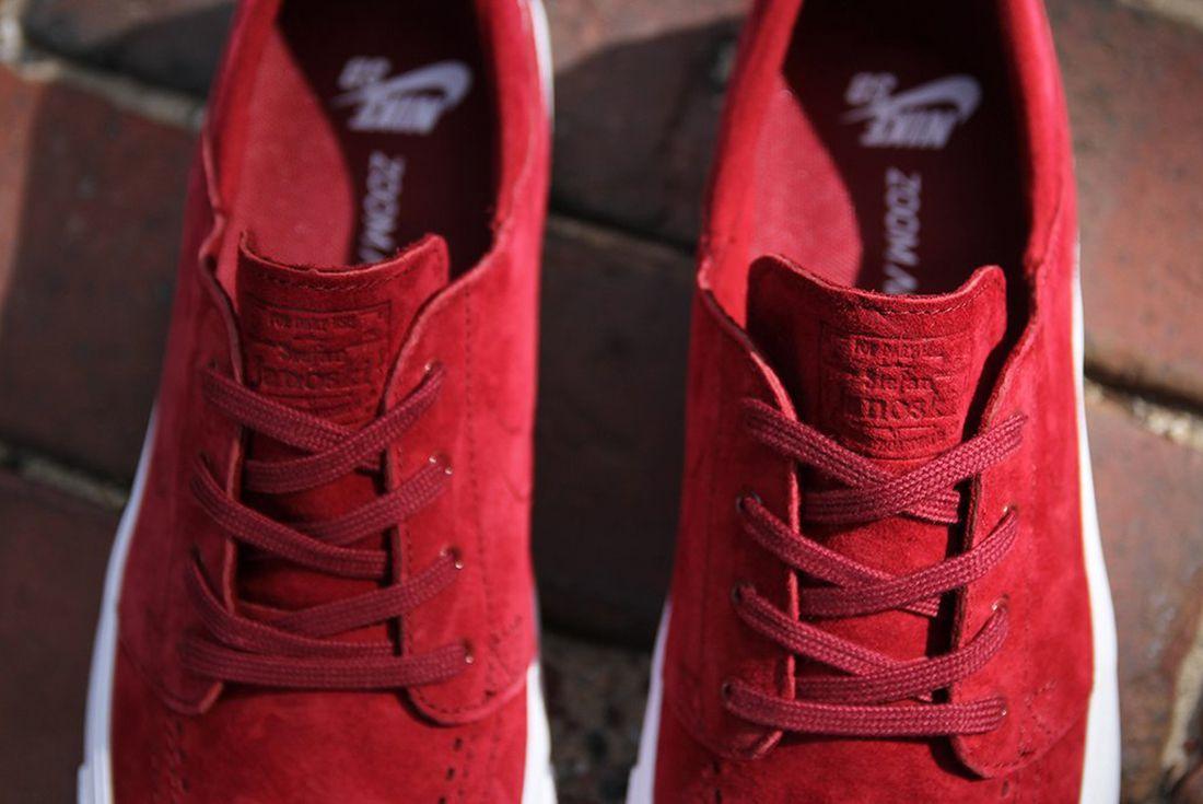 Nike Sb Zoom Janoski Premium Team Red4