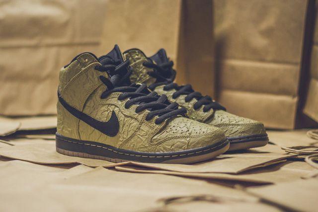 Nike Sb Dunk High Prem Brown Paper Bag8