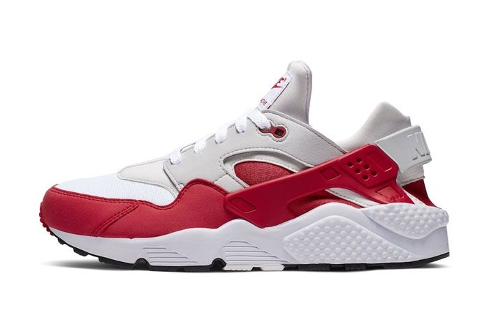 Nike Huarache Pack Air Max 1 Uni Red Lateral Side