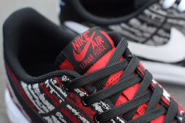 Nike Lunar Force 1 Holiday Pack Jacquard Bump 2