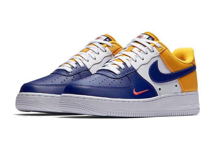 Nike Air Force 1 Mini Swoosh Deep Royal