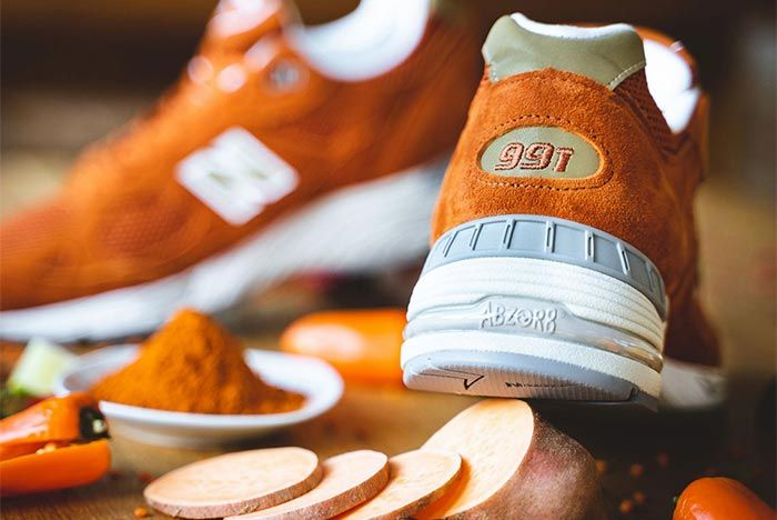 New Balance 990 Burmt Orange 3