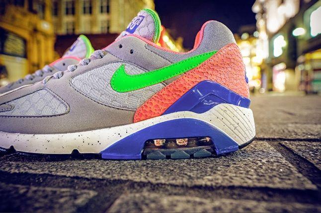 Nike Size Urban Safari Pack Pt3 Am180 Grey Midfoot Detail 1