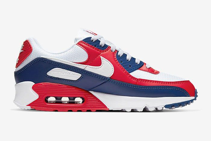 Nike Air Max 90 Cw5456 100 Medial Side Shot