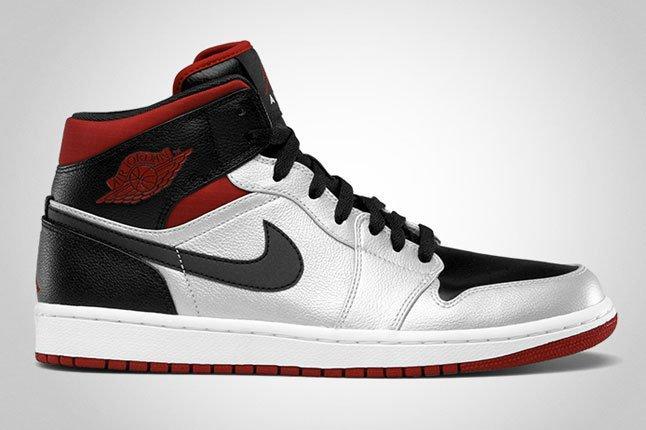 Nike Air Jordan 1 Metallic Platinum 1