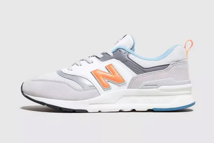 New Balance 997H Grey Blue Orange Sale