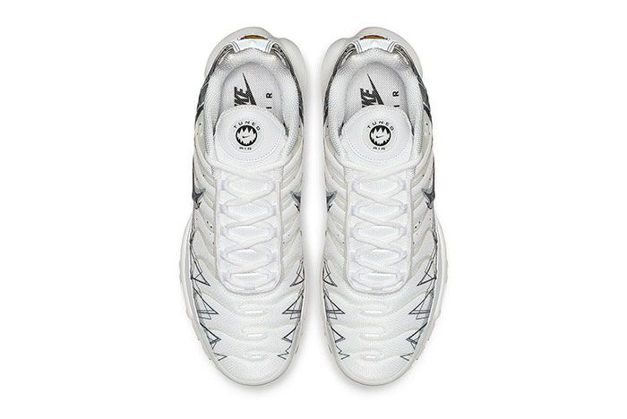 Nike Air Max Plus Le Requin New White Top