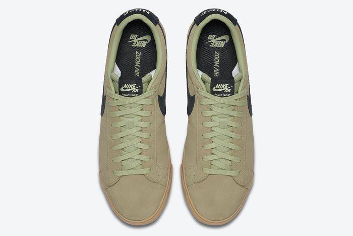 Nike Sb Blazer Low Olive Aura Top