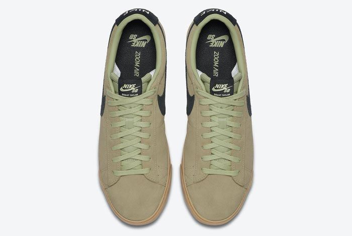 Nike Sb Blazer Low Olive Aura Top