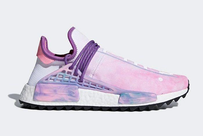 Pharrell X Adidas Nmd Hu Trail Holi Pink Glow 1