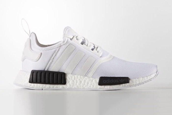 Adidas Nmd R1 White Black1