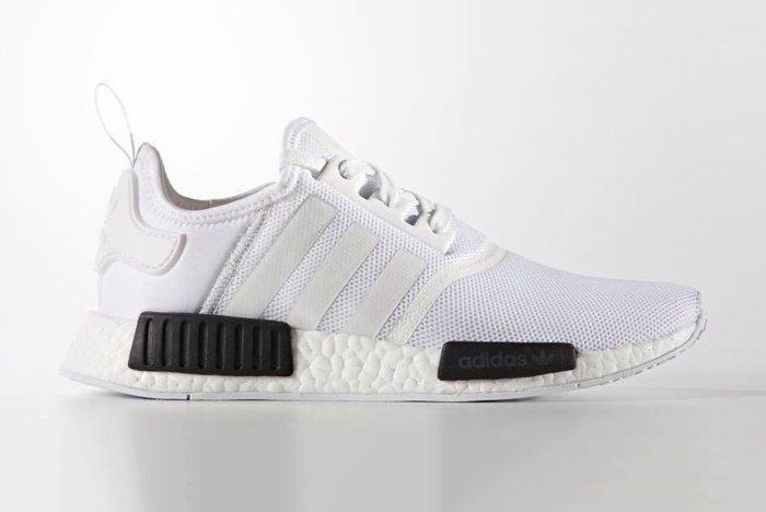 Adidas Nmd R1 White Black1