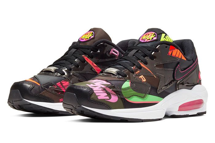 Atmos Nike Air Max 2 Light Black Toe