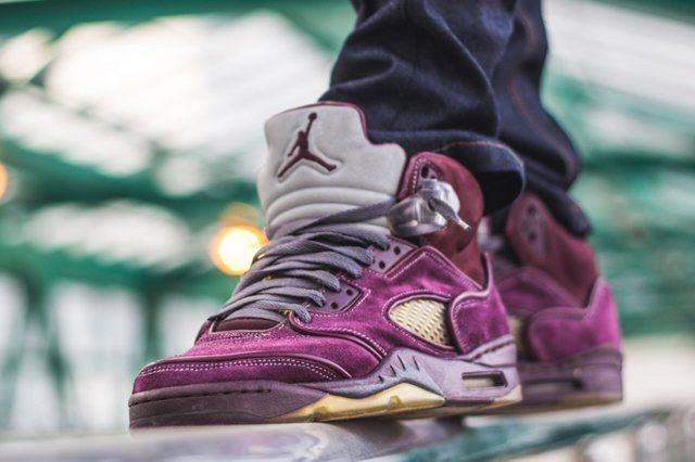 Air Jordan 5 Custom Maggi 1